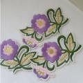 Blume spezielle Stickerei Kleidung Nähpflaster