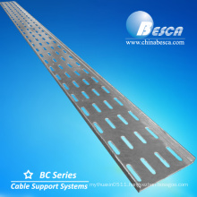 Hot Dip Galvanized Steel Perforated Tray Hanging Cable Tray