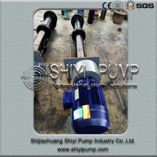 Metallgefütterte vertikale Sumpf-Schlamm-Pumpe für den Bergbau u. Die Mineralverarbeitung