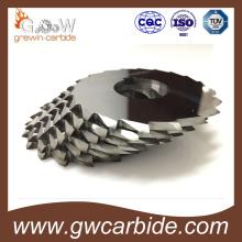 Lâmina de serra circular de carboneto de tungstênio para corte em alumínio