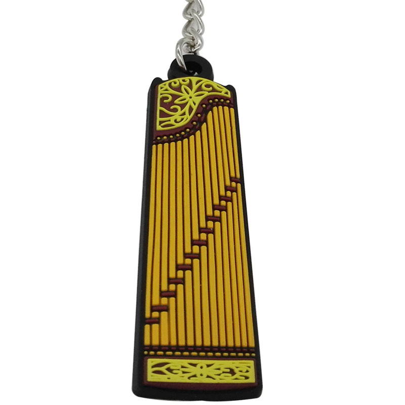 Instrument Shape Key Ring