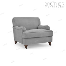 Chaise de canapé antique de style américain fantaisie meubles en bois de sofa d'alibaba