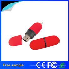 Promoção Lipstick Memory Stick plástico USB Flash Drive