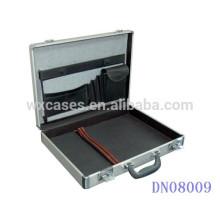 Sacoche de portable aluminium argent pour portable