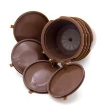 cápsula de filtro de café de plástico recarregável em xícaras dolcegusto k