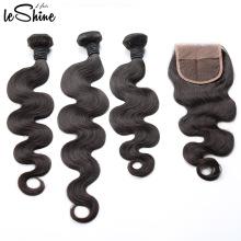Собственный Завод Продажа 100% Выровнянная Надкожица 4*4 Девственницы Бразильские Волос Закрытие Высокое Качество