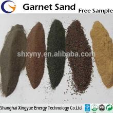 30/60 corte de jato de água abrasivo areia granada preço da areia granada competitivo para o jateamento