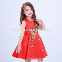 Vestido de fiesta de niña vestido occidental vestido de fiesta de niña vestido de niños diseños de vestidos de una sola pieza niñas vestidos