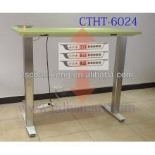 Xylofagou adjustable height desk electric&Xylotymbo electric height adjustable computer desk&Vasil wooden computer standing desk