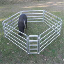 ISO9001 cheaper galvanized cattle fencing