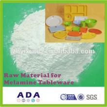 Raw material for melamine dinnerware