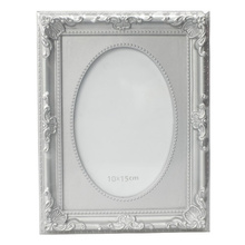 "Fashion Silver 4""X6"" Plastic Photo Frame"
