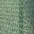 Grüner und schwarzer Geomat für Pistenschutz