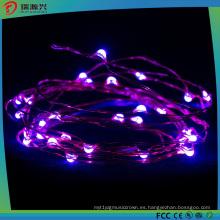 Luces de la secuencia del alambre de cobre del LED para la decoración de la luz al aire libre