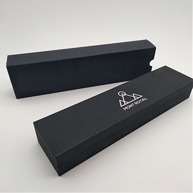 Customize Paper Hinged Lid Watch Packing Boxes