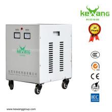 Selección y control de la producción de materias primas estrictas Transformador de voltaje de aislamiento refrigerado por aire