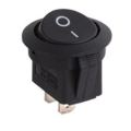 Yuvarlak Rocker Switch w / mavi led 12V