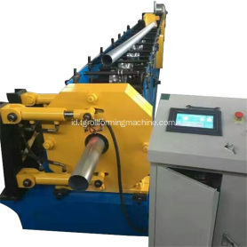 Tabung Baja Round Downpipe Roll Forming Machine