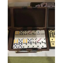 Venda por atacado Double 6 Plastic Dominoes Game Rally