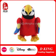 Colorful Plush Parrot Toy pour enfants
