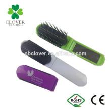 Material plástico perfil plegable peine con espejo