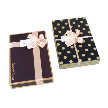 Base and Lid Chocolate Rigid Box