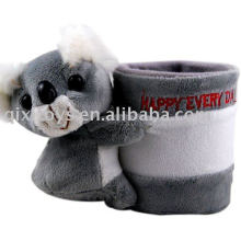 Plush and stuffed Koala pencil holder