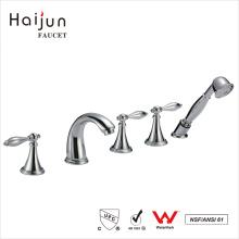 Haijun Hot Sale cUpc Deck Mounted Bathroom Bathtub Shower Faucets Parts
