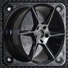 Straight rim 17 18 inch alloy wheel