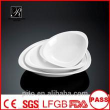 P&T chaozhou porcelain factory, porcelain treasure plates, white deep plates