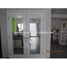 Doppelte innere Spiegeltür mit elegantem Aussehen