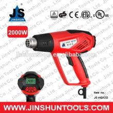 Pistola de calor portátil de JS 2000W Pistola de calor portátil JS-HG12D