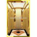 Alta calidad 630-1500kg sala de máquinas menos ascensor de pasajeros
