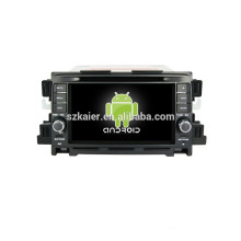 Quad core android, 7-zoll-kapazitiven bildschirm android auto navigationssystem für Mazda CX-5 auto audio auto dvd player