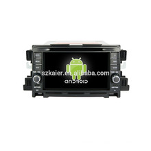 Quad core android, pantalla capacitiva de 7 pulgadas android sistema de navegación del coche para Mazda CX-5 car audio reproductor de DVD del coche