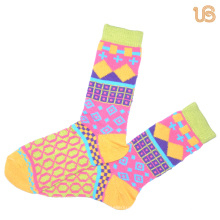 Женская красочный зимний хлопок носок