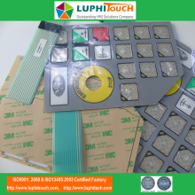 LED Backlighting Pocket Structure Membran Switch
