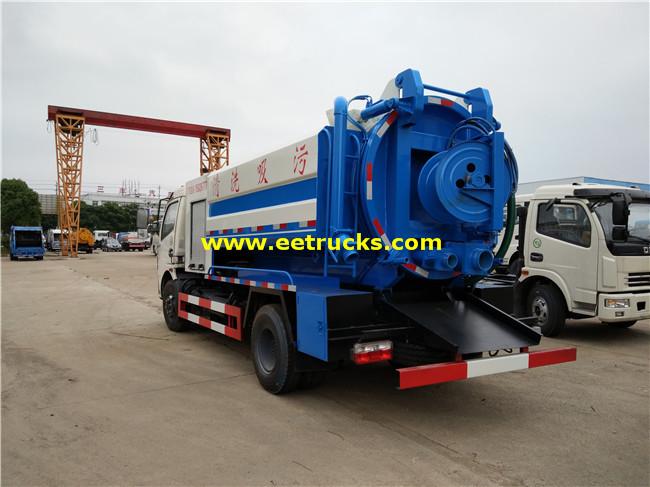 6000L Dung Tanker Trucks