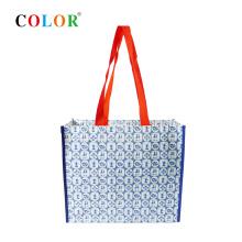 customized pp woven eco bag tote bag