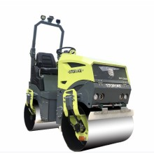 CE new fully hydraulic asphalt vibratory small road roller compactor