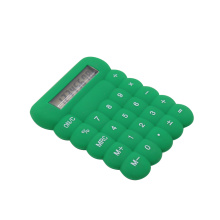 Silicon colorful bubble small calculator 8 digits