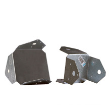 OEM Holes Connector Stamping Q235B Aluminum Alloy Plate Stamping Sheet Fabrications Stamping