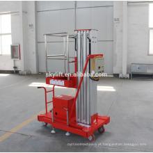 Elevador de alumínio quente do cilindro hidráulico da venda 9m