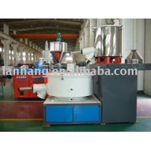 Plastic powder mixer