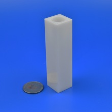 High Thermal Conductivity Square Alumina Ceramic Tube