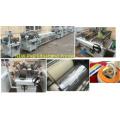 Nueva línea de impresión de bandas de borde de PVC Impresora de alta brillo brillante de madera