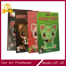 Cartoon Cat Customized Paper Air Freshener