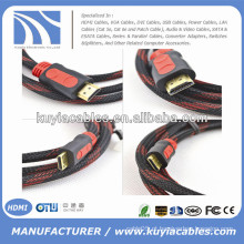 Ouro chapeado 1.3 / 1.4v Kabel HDMI com cobre de cobre cheio 1.5m, 1.8m, 3m, 5m, 10m, 20m, 50m ..