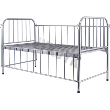 Stainless Steel High Rail Hospital Bed for Children