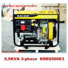 5kw Air Cooled Portable Generator for Home Use 100% Cooper